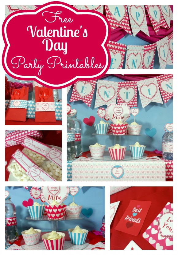Free Valentine's Printables from Unlimited Party Themes | Catch My