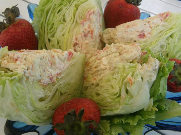 Stuffed Head Lettuce. Photo by mydesigirl