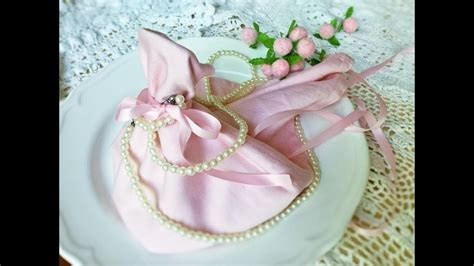 Wedding dress napkin folding   YouTube