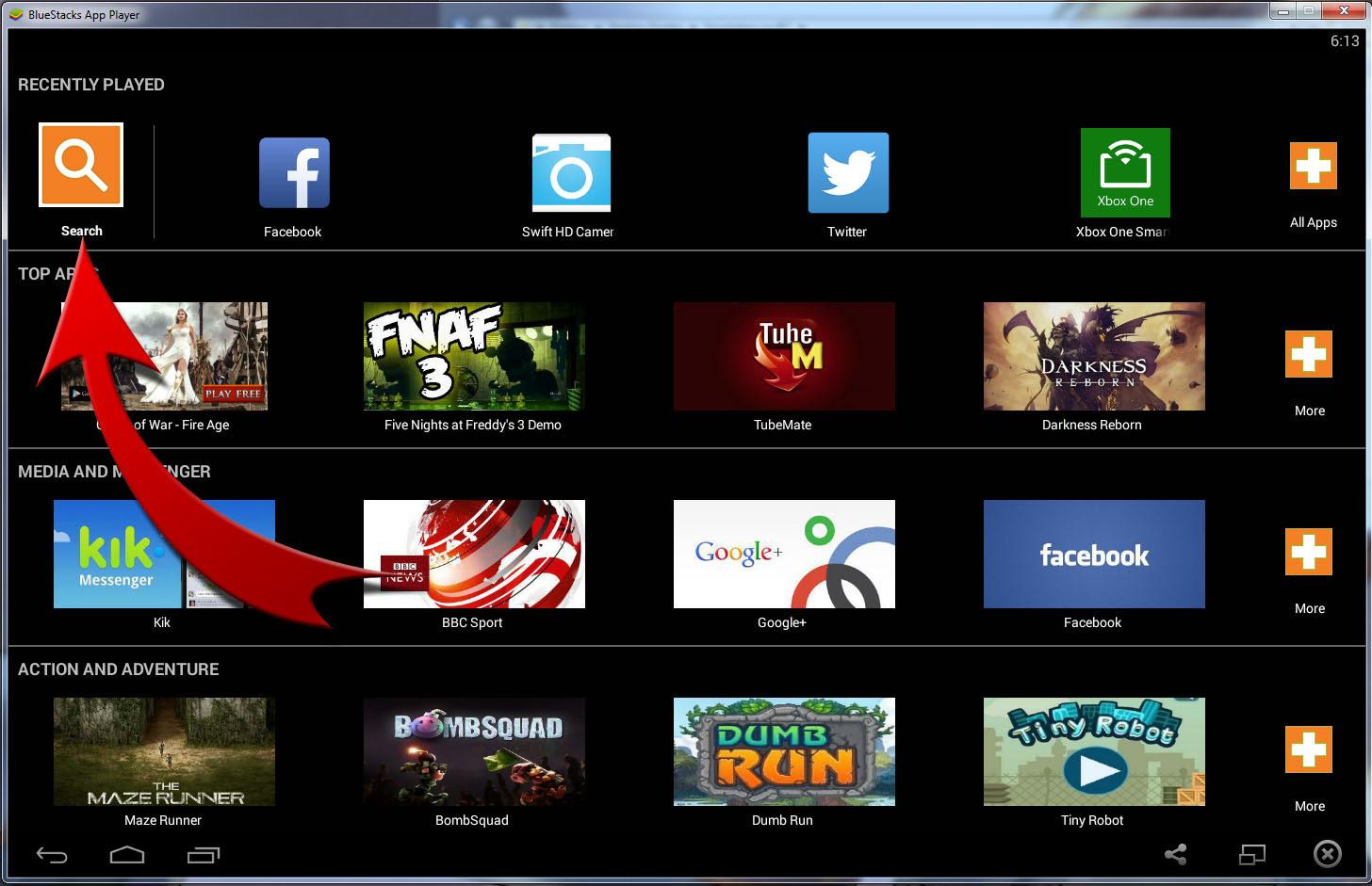install android apk apps bluestacks techzillo