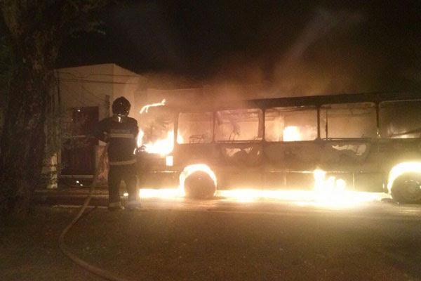 O incêndio aconteceu na avenida Hermes da Fonseca