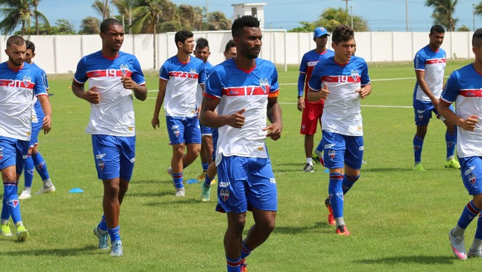 Fortaleza, treino (Foto: Divulgação)