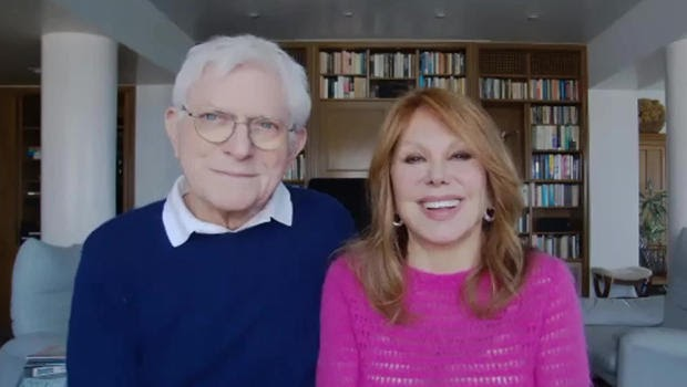Marlo Thomas + Phil Donahue on the secrets of marriage