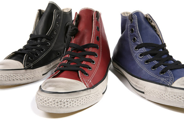 varvatos converse chuck leather hi 1 Converse by John Varvatos Leather Chuck Taylor Hi