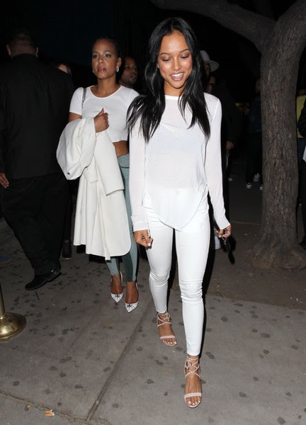 Celebrities Enjoy A Night Out In Los Angeles