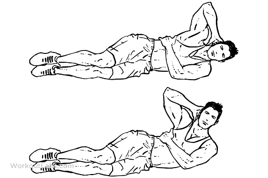 Image result for Side crunches