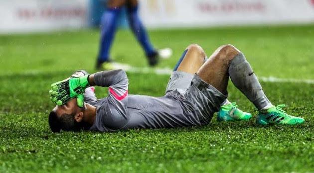 August Ames Alam >> Respon Haziq Nadzli, Penjaga Gol Malaysia Setelah Jaring ...
