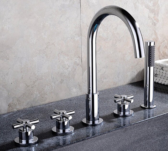 Bathtub Faucet With Handheld Shower Archives All In One