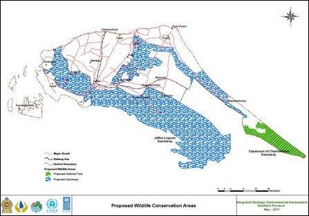 Colombo's blueprint for expansion of Chu'ndikku'lam Sanctuary