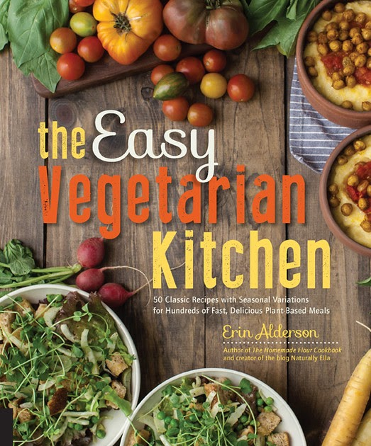 ROOTING AROUND: OUR FARM BLOG: The Easy Vegetarian Kitchen Cookbook ...
