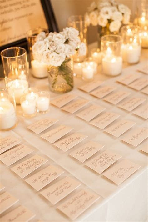 wedding tabel decorations for place cards   EmmaLovesWeddings
