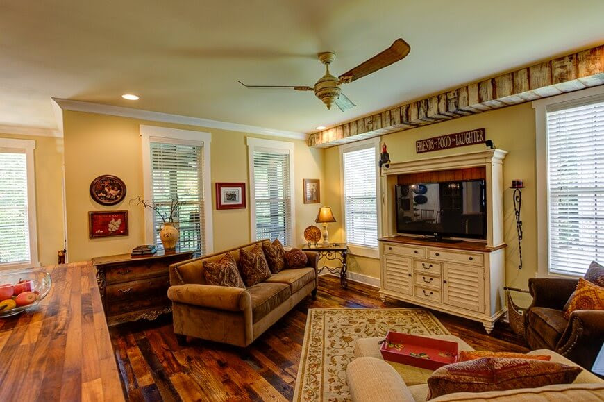 20 Gorgeous Country Style Living Room Ideas   Nimvo ...
