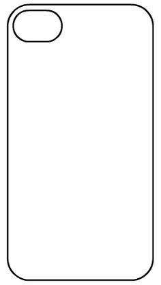 iPhone Template Printable — Crafthubs