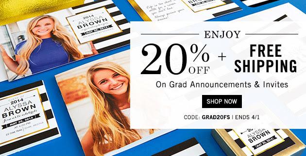 Tiny Prints Graduation Announcements