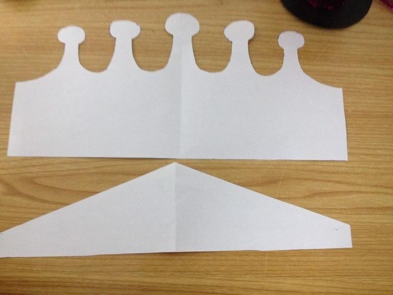 Platillas para una corona infantil de cumpleaños de goma eva u otro material para manualidades