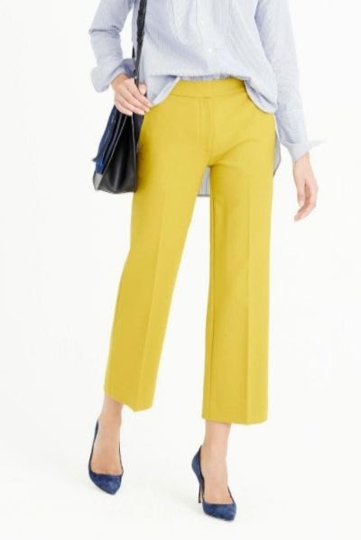 J.Crew Patio Pant in Bi-Stretch Wool