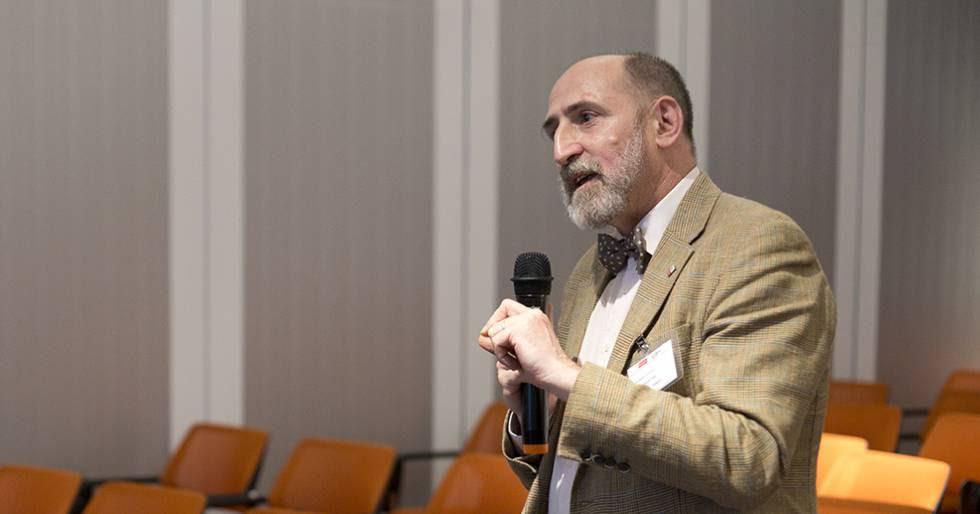 El experto de la FAO Juan Carlos García y Cebolla, en el curso.