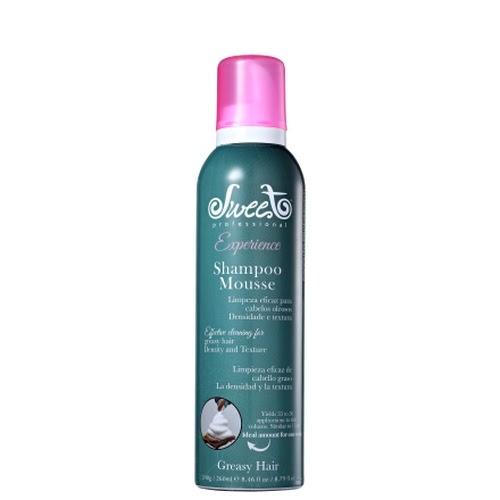 → 10% OFF | Sweet Shampoo Mousse Cabelos Oleosos 260ml