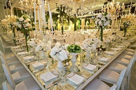 "Inside The ""Summer Garden Wedding"" of Farah Al Rayyan and"