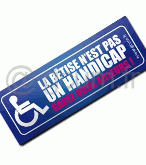 Places handicapées