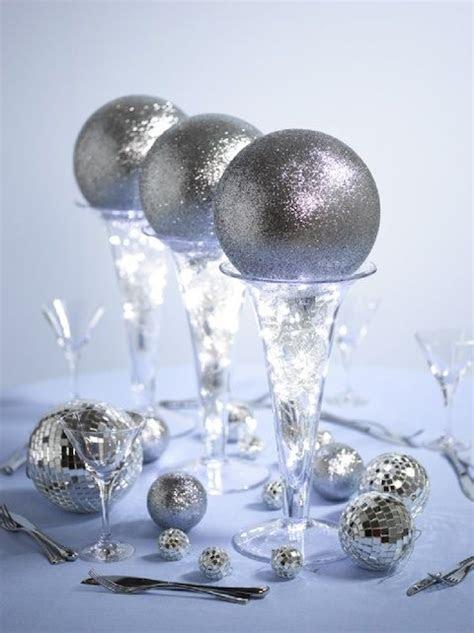 Glitter Ball Centerpieces & Welcome Vanessa