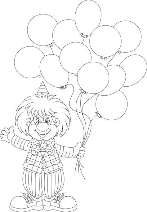 coloring pages bobo  magic clown todd smeltzer aka bobo