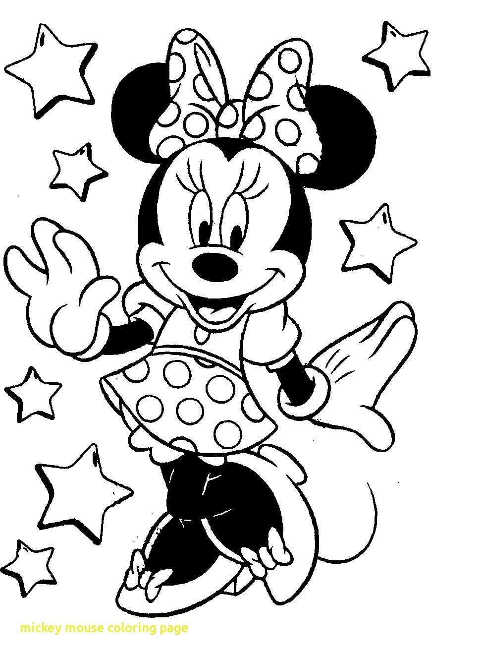 Mickey Printable Coloring Pages At Getdrawingscom Free For