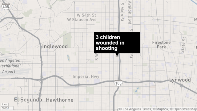 L.A. Chronicles :Three children wounded in South L.A. drive-by shooting
