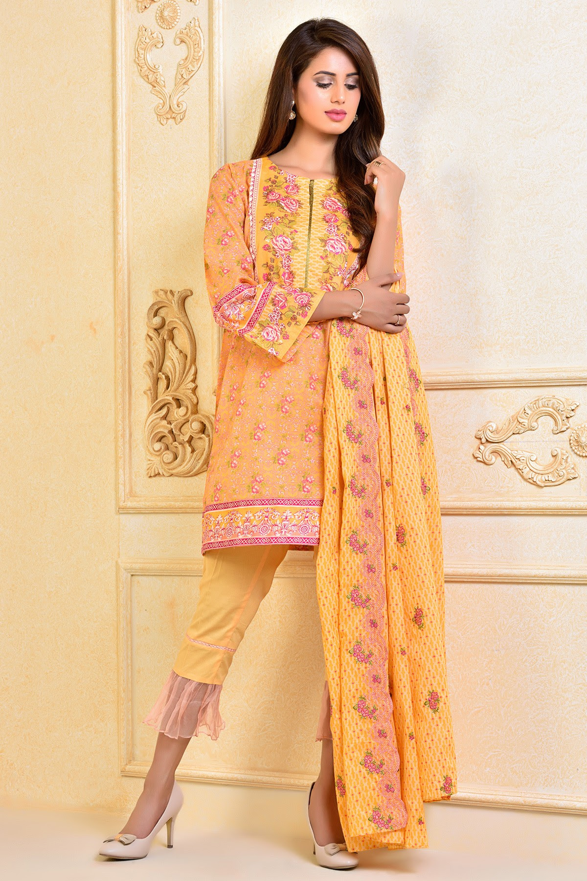 kayseria beautiful fancy eid dresses collection 20172018