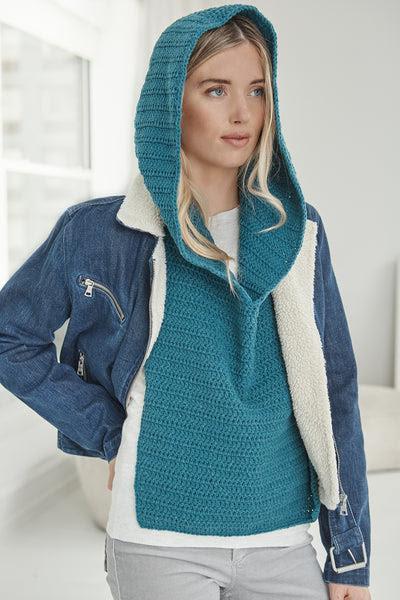 Waterloo Hooded Cowl (Crochet)