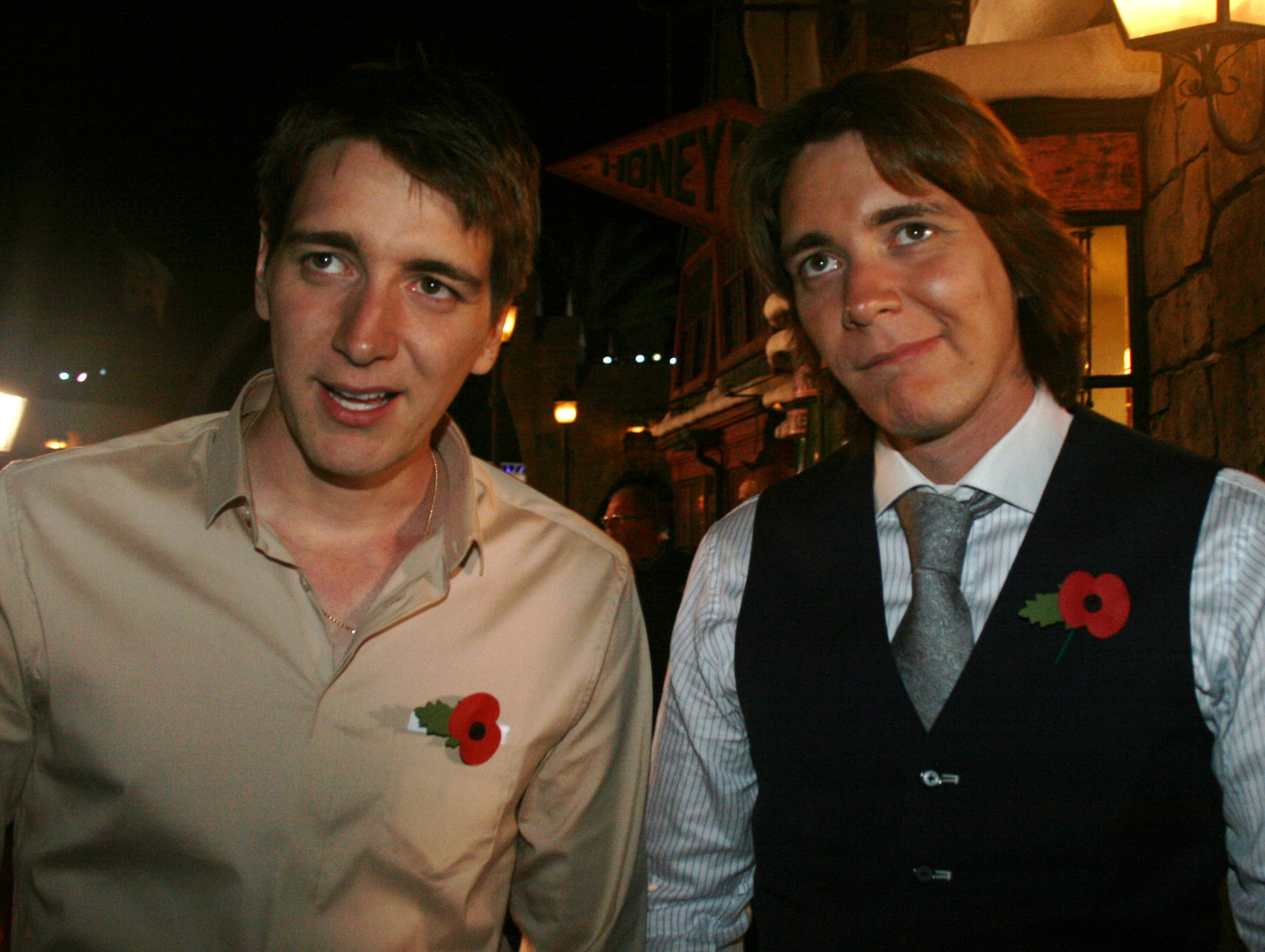 James Oliver Phelps Fred George Weasley Beyond The Marquee