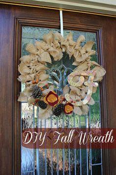 DIY Fall Wreath | Fun with the Fullwoods