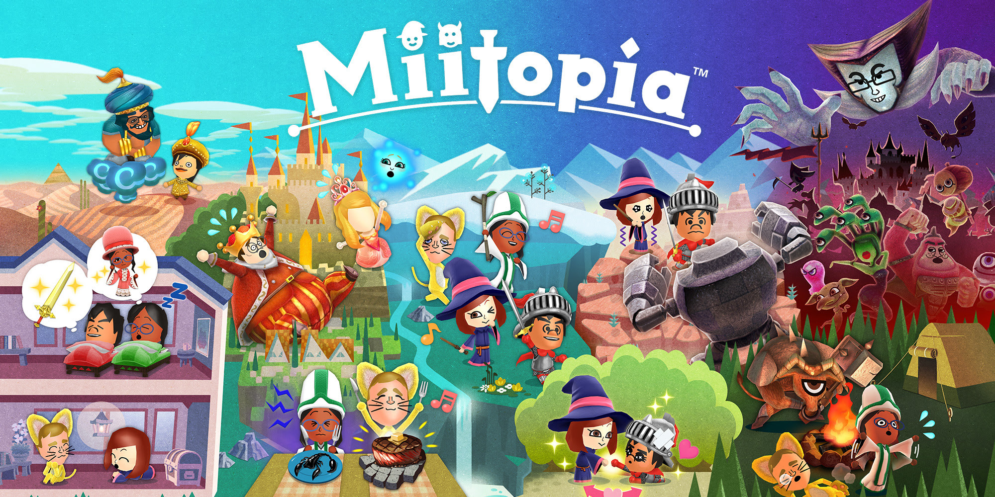Review: Miitopia screenshot