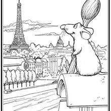 Coloriages Ratatouille Rémy Frhellokidscom
