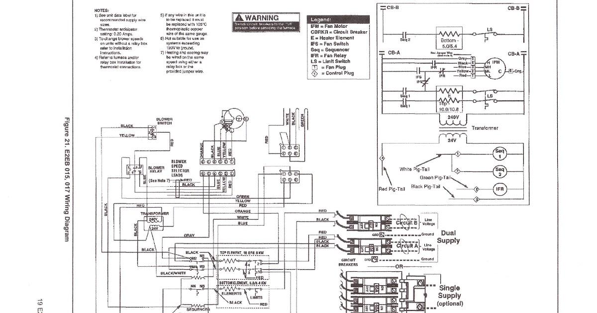nordyne ac wiring diagram