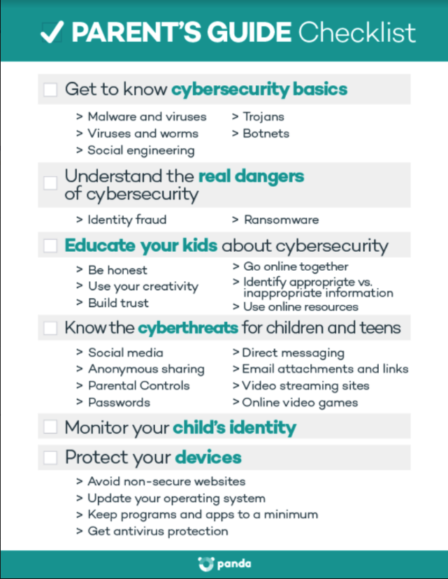 Cybersecurity Guide for Parents