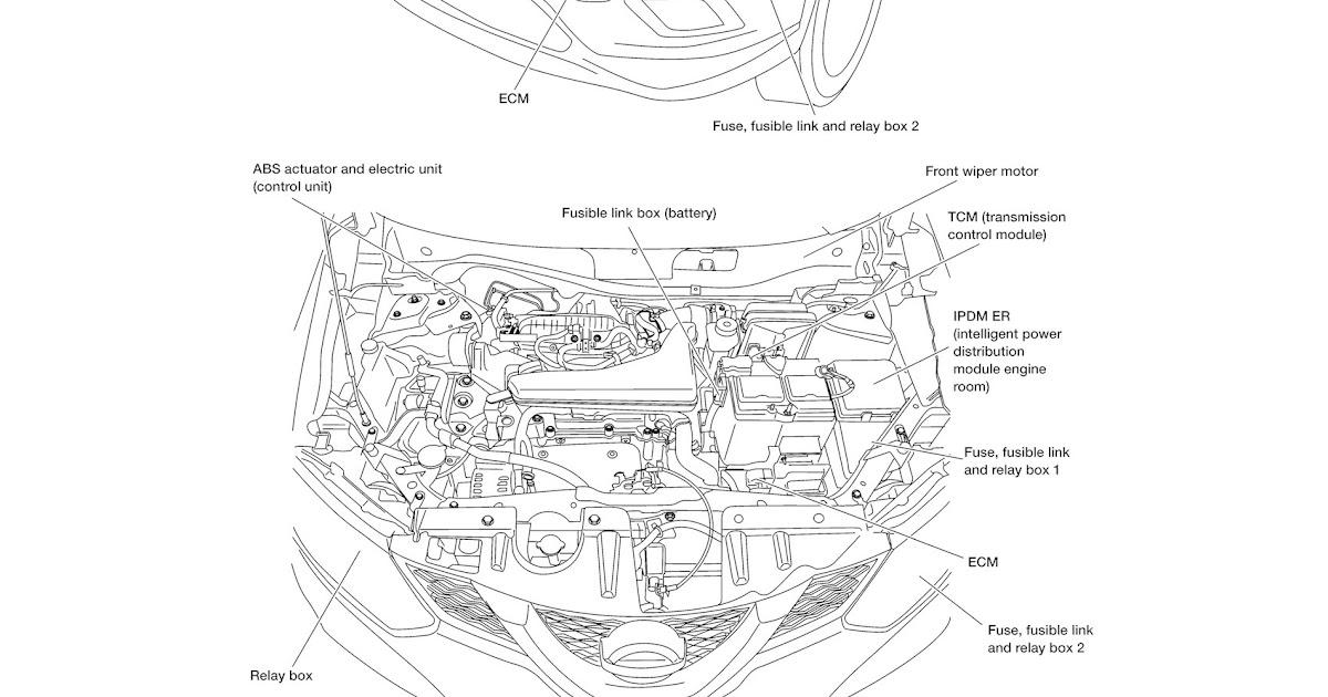 Nissan Rogue Engine Diagram - 88 Wiring Diagram