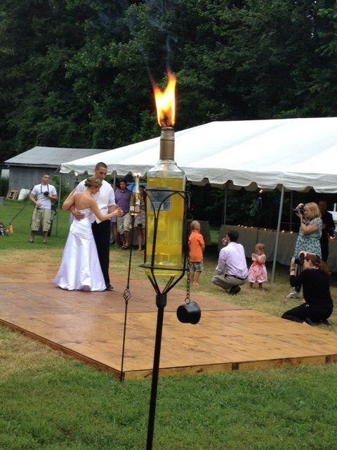 Outdoor Wedding Dance Floor Ideas