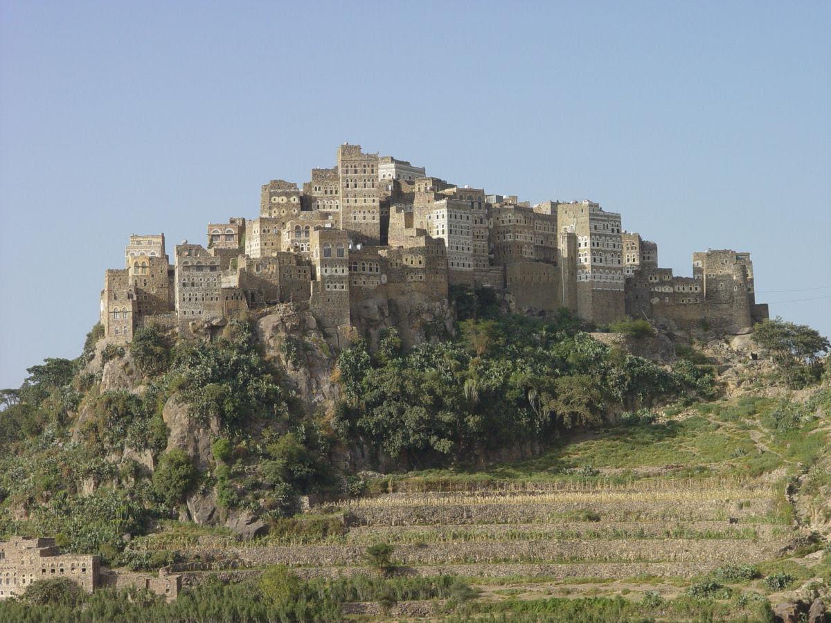 Al Hajjarah, a cidade da Idade Média com edifícios de vários andares 11
