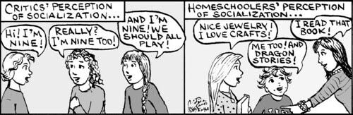 Home Spun comic strip #399