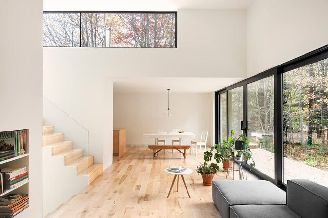 Simple Interior Design Brings Natural Decoration Ideas For Modern Residence - RooHome | Designs ...