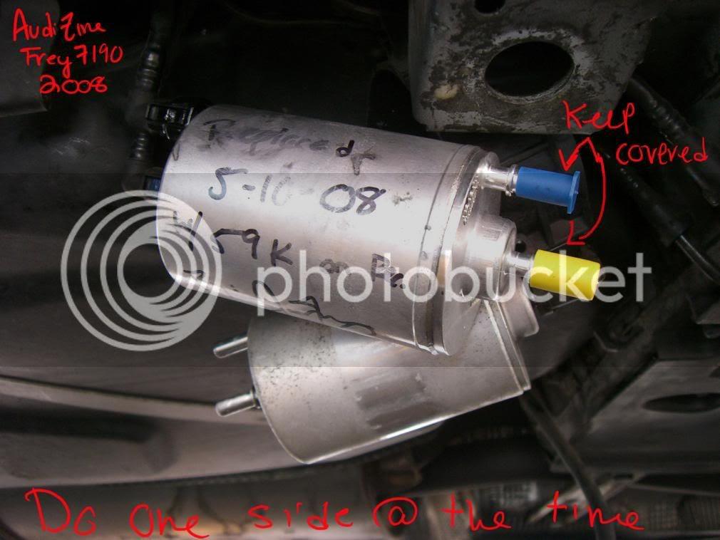 2005 Audi A4 Fuel Filter