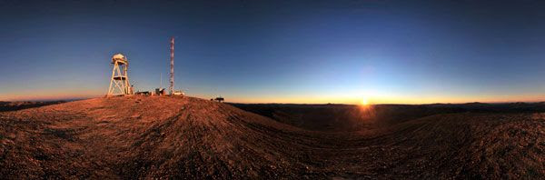 The future site for the Euopean Extremely Large Telescope...located in Chile's Atacama Desert.