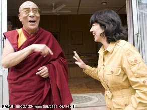 Dalai Lama and Christiane Amanpour