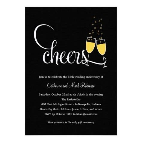 186 best images about Anniversary Party Invitations on