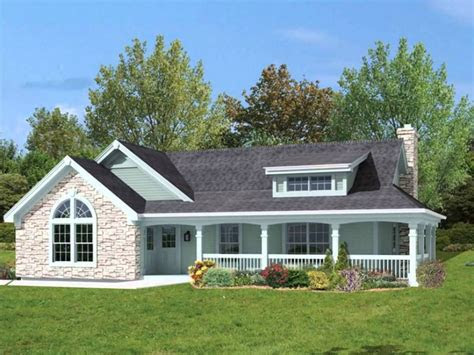 rustic  story country house plans idea house design