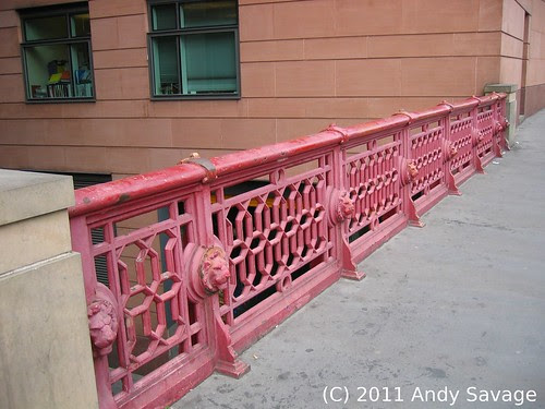 Shoe Lane bridge, London built by Andrew Handyside