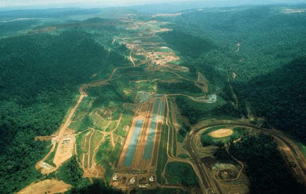Le projet Grand Carajás a gravement affecté les Indiens awá au début des années 1980.