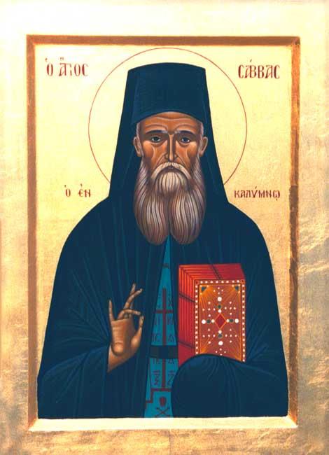 img ST. SABBAS. Savas,of Kalymnos
