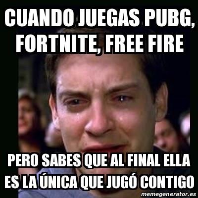 Memes De Free Fire Vs Pubg Vs Fortnite Get V Bucks Playing